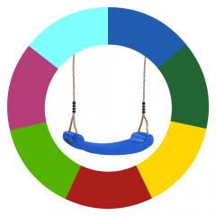 Farbänderung Schaukelsitze